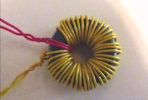 Joule thief - 120 VAC LED bulb at 1.5 volts using toroid